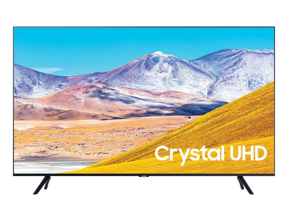 TV SAMSUNG UE43TU8072 43″ CRYSTAL UHD 4K SMART WIFI NEGRO HDMI USB
