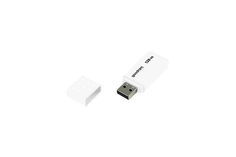 USB 2.0 GOODRAM 128GB UME2 BLANCO