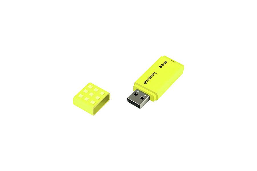 USB 2.0 GOODRAM 64GB UME2 AMARILLO